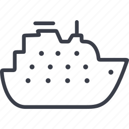 ship, transport, transportation, travel, vehicle icon