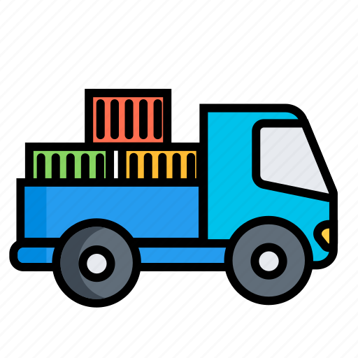 automobile wagon, autotruck, commercial vehicle, lorry, motor lorry, truck, vehicle icon
