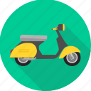 activa, scooter, motorbike, road, transport, transportation, travel icon
