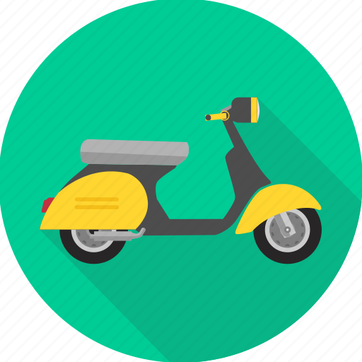 activa, motorbike, road, scooter, transport, transportation, travel icon