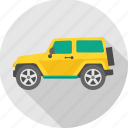 car, jeep, transport, transportation, van, vehicle icon