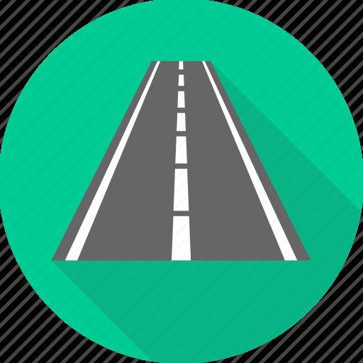 road, transport, transportation, travel icon