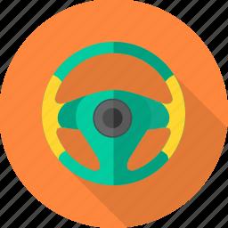 car, car wheel, cogwheel, gearwheel, steering, vehicle, wheel icon