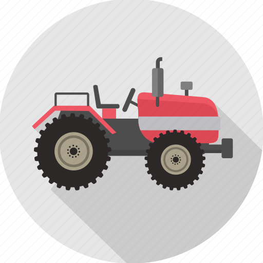 heavy vehicle, tractor, transport, transportation, vehicle, work icon