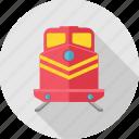train, metro, railroad, railway, tramway, transport icon