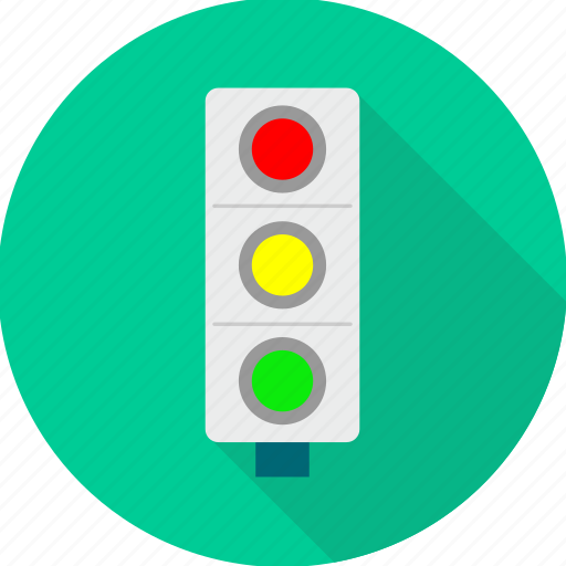road, signal, signals, traffic, transport icon