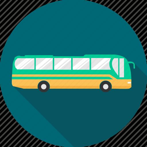 bus, public transport, transport, transportation, travel, van, vehicle icon