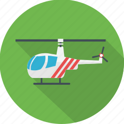 air, aircraft, airplane, helicopter, plane, transport, travel icon