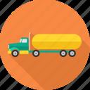 truck, automobile, heavy vehicle, road, transport, transportation, vehicle icon