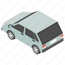 automobile, car, motor vehicle, personal car, transport icon