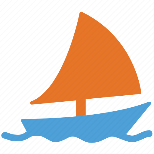 boat, sailboat, transport, travel icon