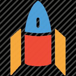 rocket, space, spaceship, transport icon