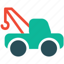 tow, truck, transport, vehicle