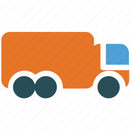 delivery truck, logistic, shipping, transport icon