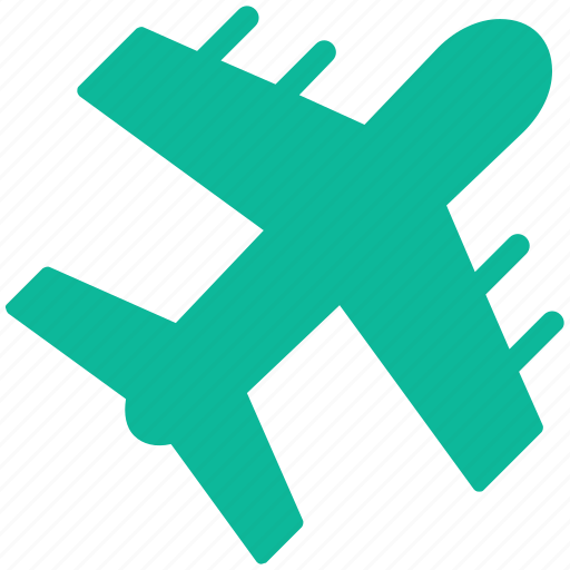airliner, flight, plane, travel icon