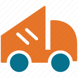dump, garbage lifter, trash lifter, truck icon