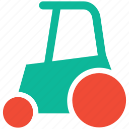 tractor, transport, vehicle, work icon