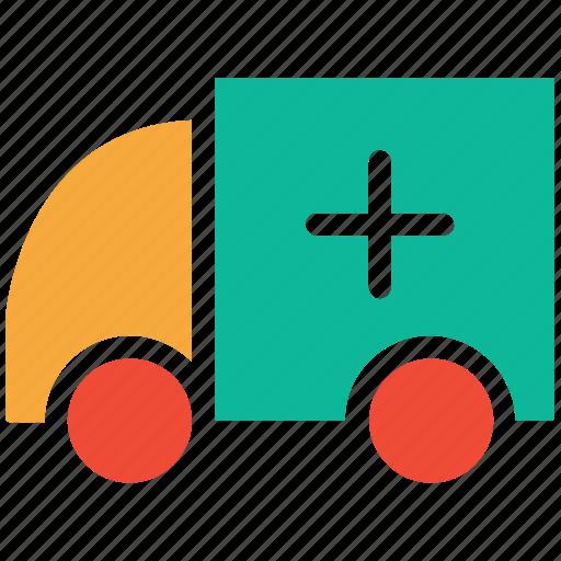 ambulance, hospital transport, medical transport, transport icon