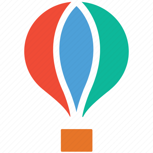 fly, flying, hotairballoon, travel icon