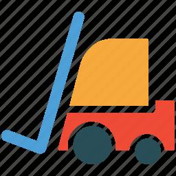 cargo, forklift, transport, truck icon