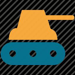 military tank, tank, war tank, weapon icon