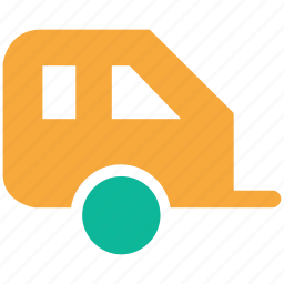 caravan, convoy, metro, train icon