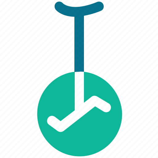 carnival, circus, cycling, unicycle icon