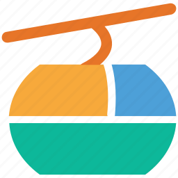 aerial, tramway, transport, travel icon