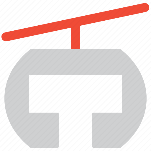 cable car, transport, travel, vacation icon