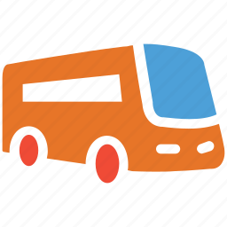 bus, transport, travel, vehicle icon