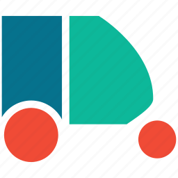 auto, automobile, rickshaw, transport icon