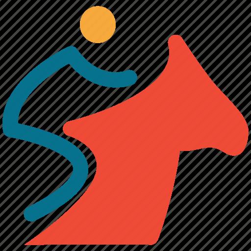 horse, horse riding, riding, travel icon