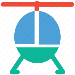 chopper, emergency vehicle, helicopter, travel icon