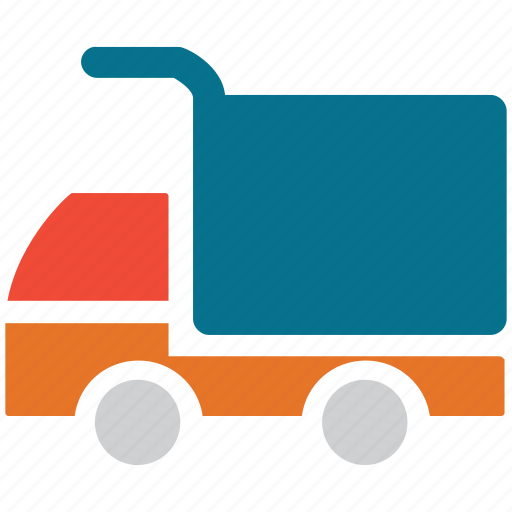 delivery truck, lifter, transport, truck icon