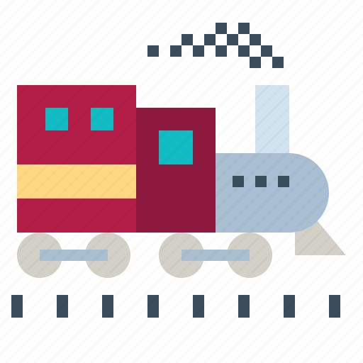 Locomotive, logistics, railway, toys, train icon - Download on Iconfinder