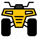 adventure, atv, bike, extream, quad, sport, vehicle icon