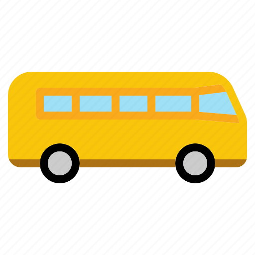bus, mass, public, transport, transportation, vehicle icon