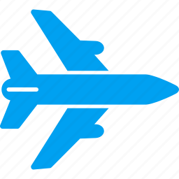 aeroplane, aircraft, airlines, airplane, airport, avion, flight icon
