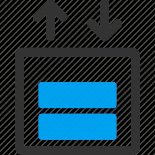 cargo elevator, delivery, escalator, lift, logistics, transport, transportation icon
