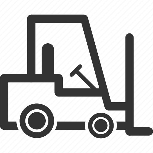 Fork Lift Icon Symbol