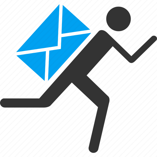 communication, delivery, envelope, mail courier, message, post icon