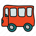 bus, public, transportation, vehicle icon