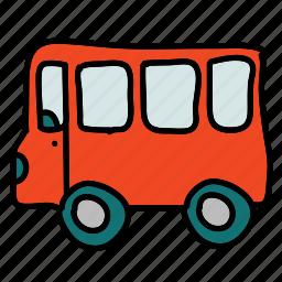 bus, public, transportation, vehicle icon