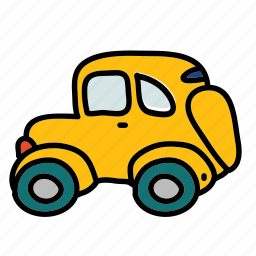car, side, transportation, vehicle icon