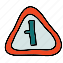 indicator, road, safety, street, transportation icon