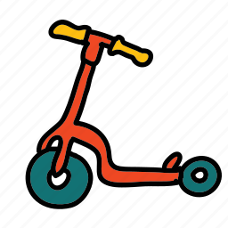 activity, game, hobby, scooter, transportation icon