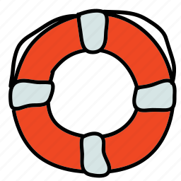 boat, life, preserver, ship, transportation icon
