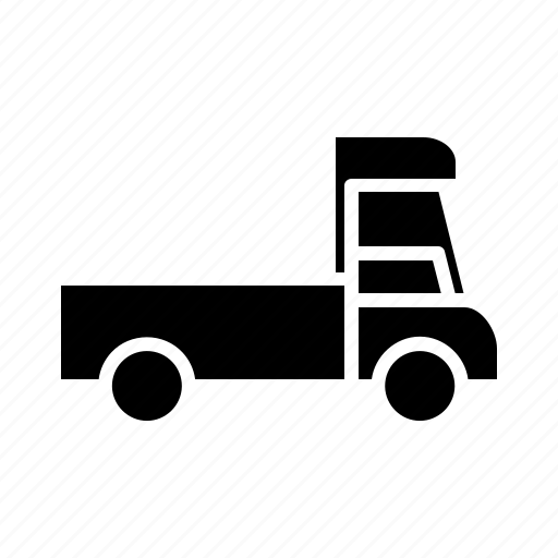 goods vehicle, mini truck, transport, transportation, travel, truck icon
