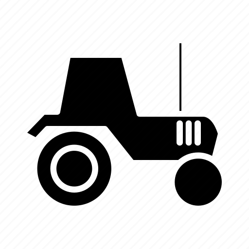agricultural transportation, agriculture, farm vehicle, goods vehicle, tractor, transport, transportation icon