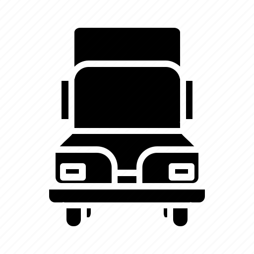 cargo, delivery, goods vehicle, shipment, transportation, truck, vehicle icon